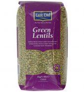 EAST END GREEN LENTILS(2KG)
