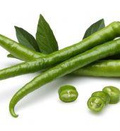 LONG GREEN CHILLI(250G)
