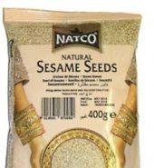 NATCO SESAME SEEDS WASHED (400G)
