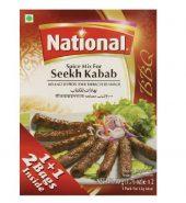 NATIONAL SEEKH KEBAB MASALA(100G)
