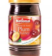 NATIONAL SWEET&SOUR PLUM CHUTNEY(390G)