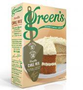 GREENS VANILLA CAKE MIX (SERVES 12)