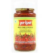 PRIYA'S RED CHILLI PICKLE (300g)