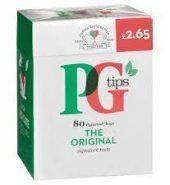 PG TIPS  TEA BAGS PM £2.65